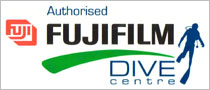 Aqualand Divers is an Authorized Fujifilm Dive Centre
